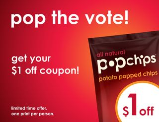 Pop the vote_$1 off_banner_520x400